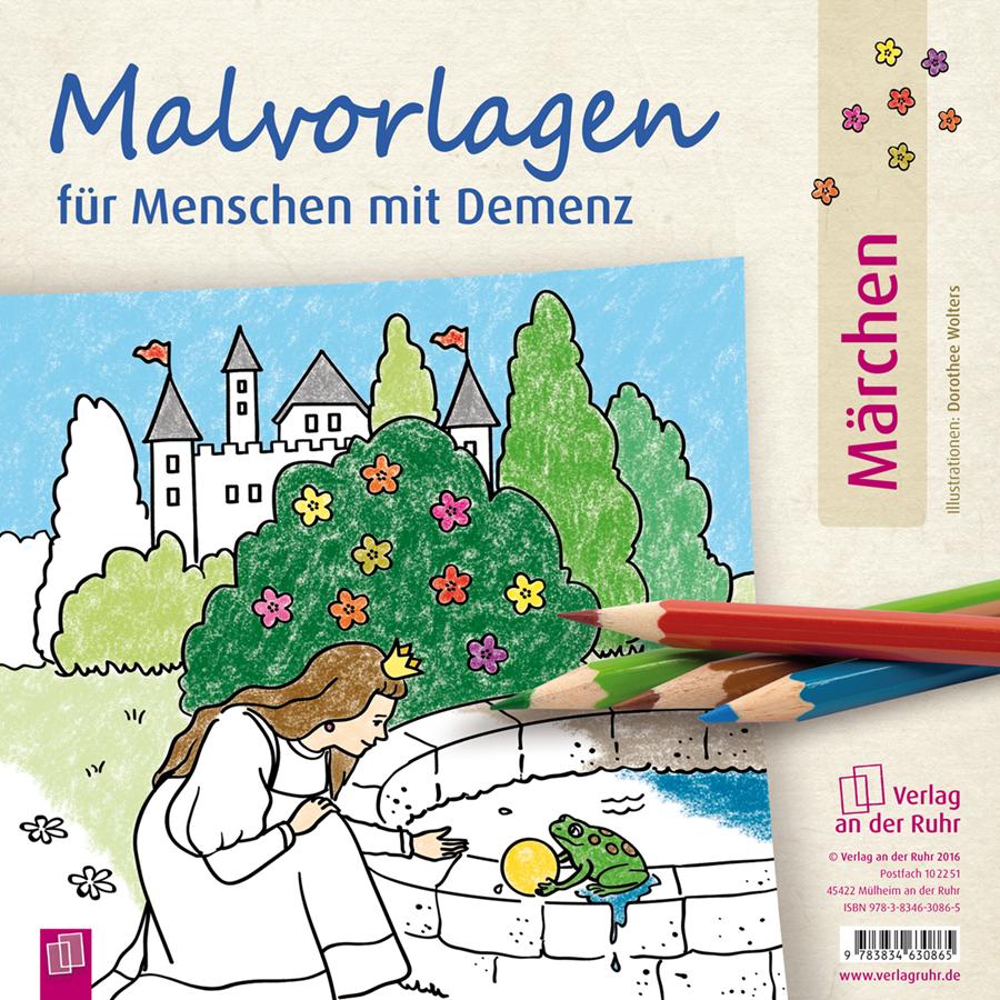 Malvorlagen Märchen Ausmalbuch