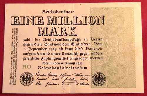 Reichsbanknote 1.000.000 Mark 1923