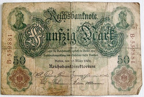 Reichsbanknote 50 Mark 1906